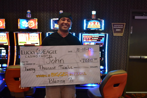 John From San Antonio 10 11 13 Blazing 7 S Jackpot Win Flickr