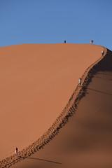 walk on dune