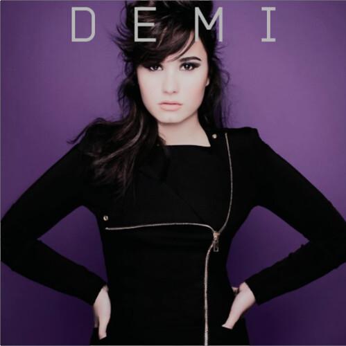 Demi Lovato - DEMI (Album Cover)