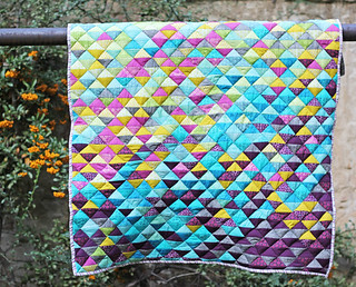 Finished HST lap quilt | by Katarina Roccella