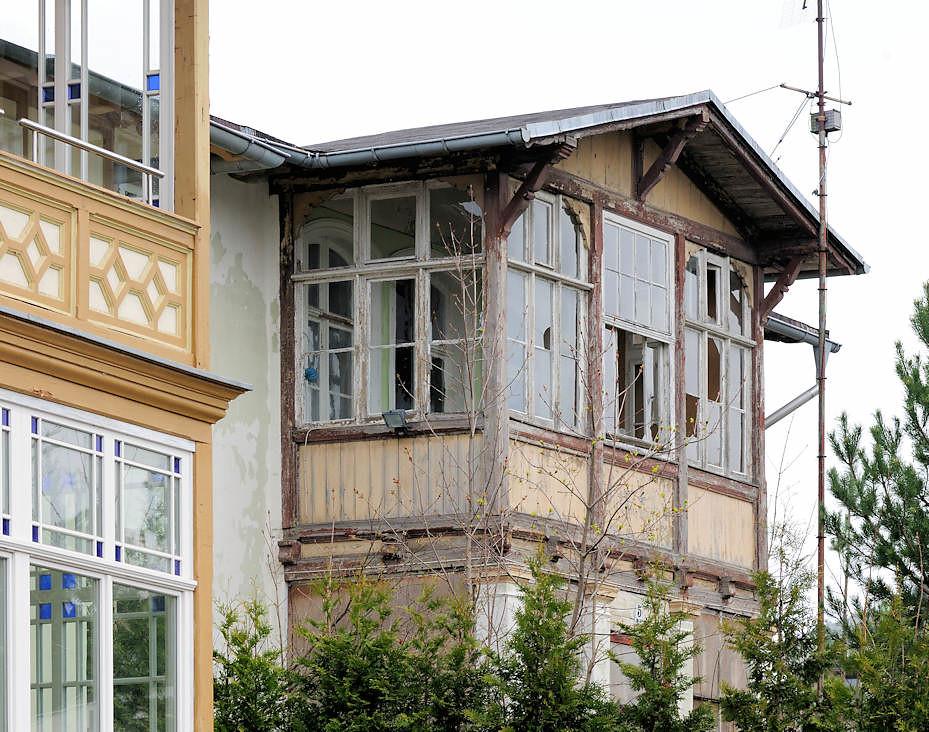 Veranda Holz 4136 historische bäderarchitektur ostseebad heringsdorf flickr