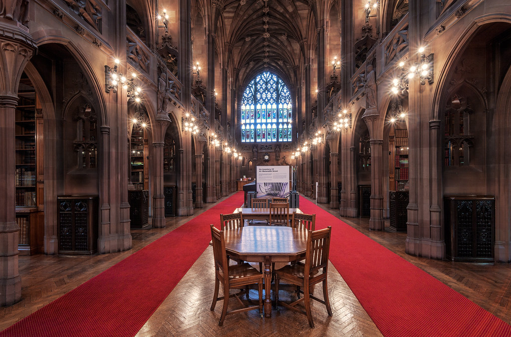 Neo Gothic Library
