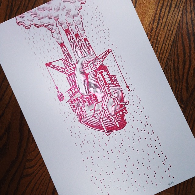 Beautiful New Love Factory Print Release By Roll Tumbl Flickr