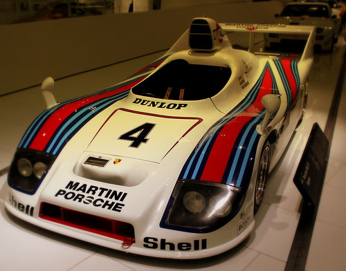 Martini Racing Porsche 936 77 Spyder At The Porsche Museum Flickr