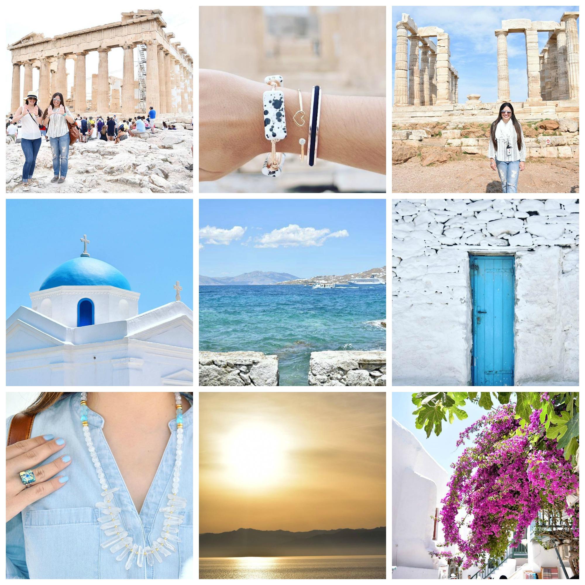 Athens, Mykonos
