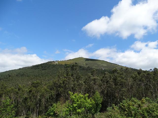 Monte Enxa en Porto do Son