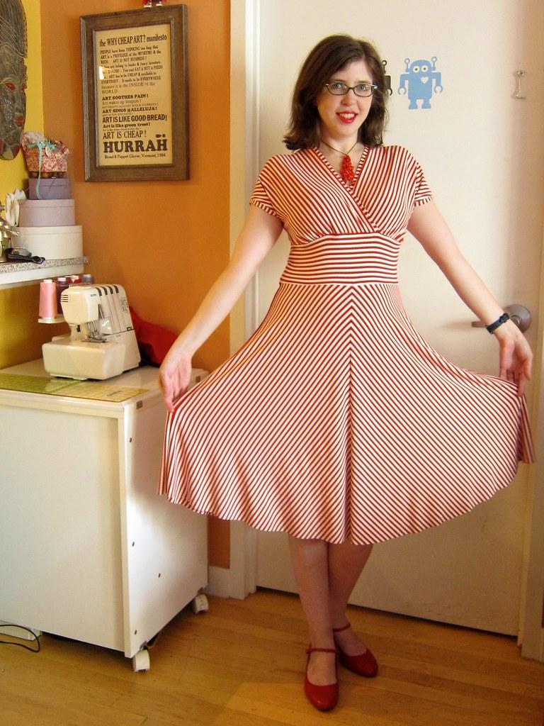 Cake Patterns Tiramisu Knit Dress In Candy Stripes Flickr