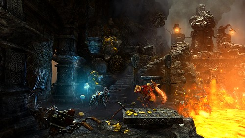 Trine2CompleteStory_DwarvenCavernsPontius_Screenshot | by PlayStation Europe