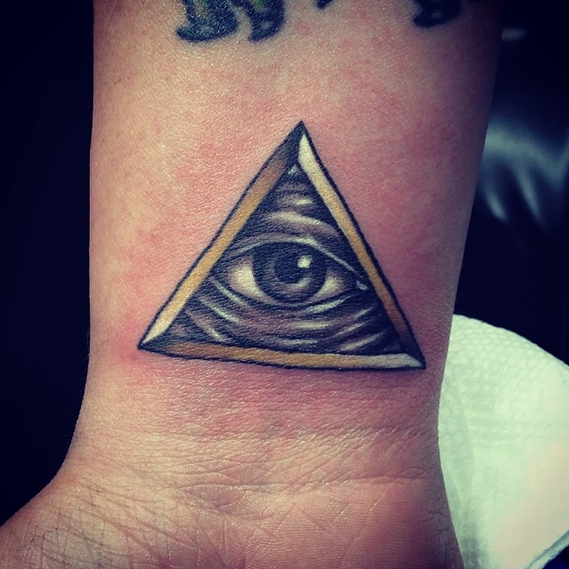 Illuminati Tattoo Allseeingeye Bridget Punsalang Flickr