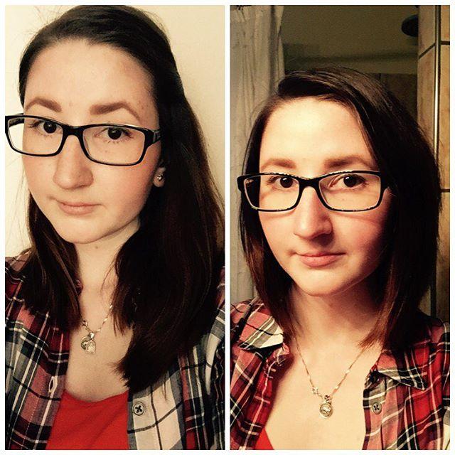 Vorher Nachher Friseurbesuch Haare Ab Neuerhaarschni Flickr