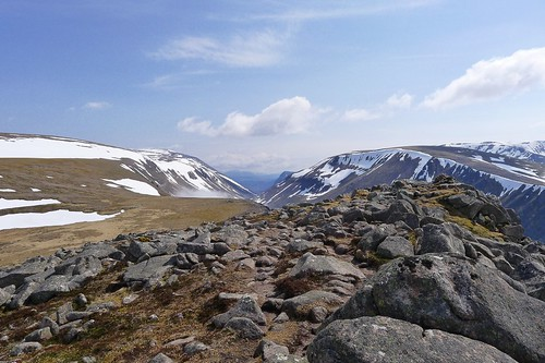 Lairig Ghru from Lurcher's Crag | by Nick Bramhall