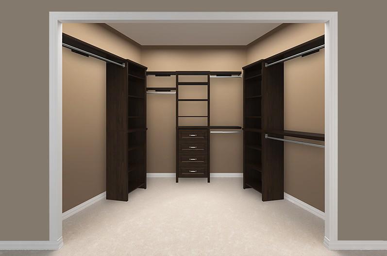 ... Impressions Walk-In Chocolate Bedroom 4 Empty | by ClosetMaid & Impressions Walk-In Chocolate Bedroom 4 Empty | Create a hisu2026 | Flickr