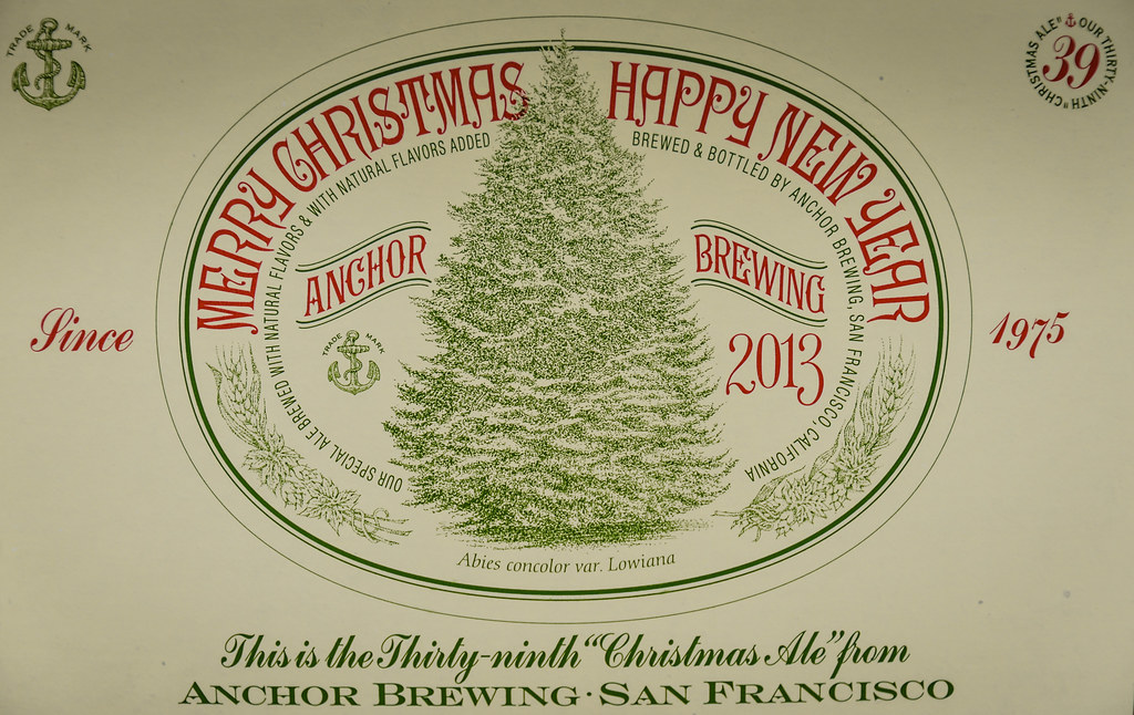 Anchor Brewing 2013 Merry Christmas Happy New Year San Francisco Ca By Mbell1975