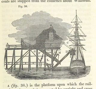 "Image taken from page 373 of 'The History and Description of Fossil Fuel, the collieries, and coal trade of Great Britain. By the author of the ""Treatise on manufactures in metal"" in Lirdner's Cabinet Cyclopædia [J Holland]' 