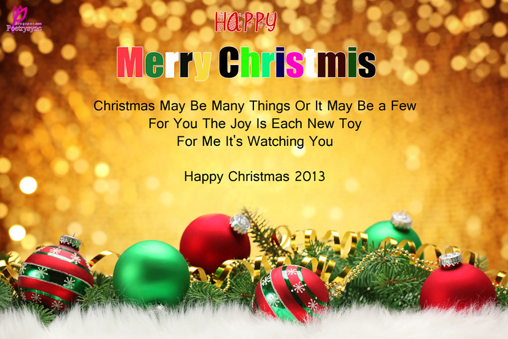 Merry-Christmas-Happy-Christmas-SMS-Message-Quote-with-Car… | Flickr