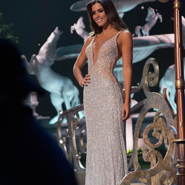 Silver beaded evening gown with rhinestone crystals | #dre… | Flickr