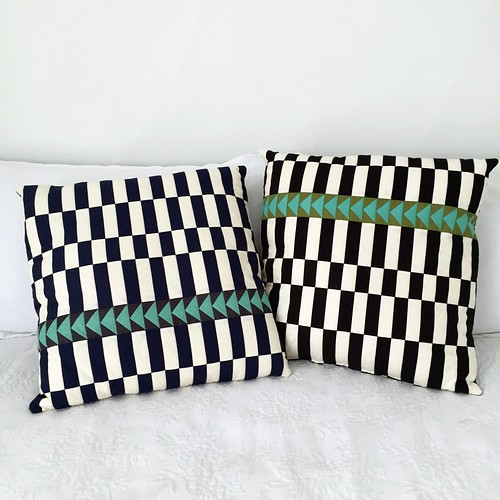 Basket weave pillows | by dorathy