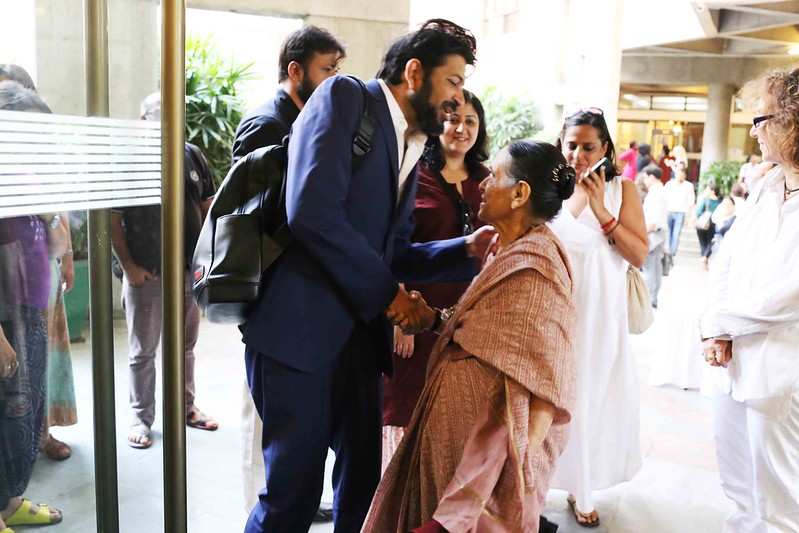 Barkha Dutt the Prime Time Killer & Siddhartha Mukherjee the Telugu Film Heartthrob, India Habitat Center
