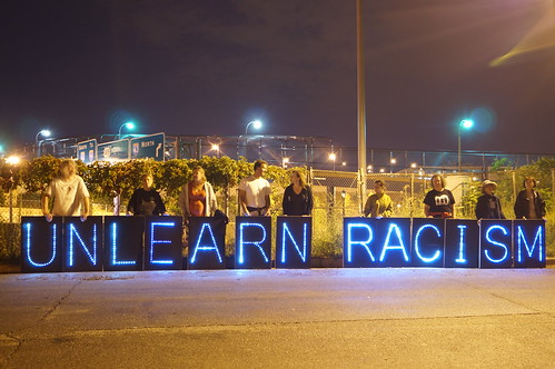 Unlearn Racism 1 | by Overpass Light Brigade