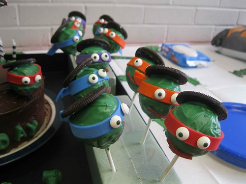 Ninja Turtle Birthday Cake Decorations