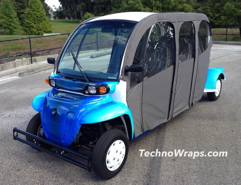 Golf Cart Vinyl Graphic Wraps on custom golf cart body wraps, yamaha golf cart graphic wraps, golf cart graphic kits,