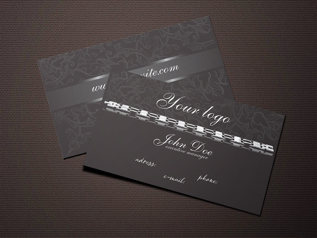 Dark jewelry business card free template today we are pres flickr dark jewelry business card free template by business cards zone colourmoves