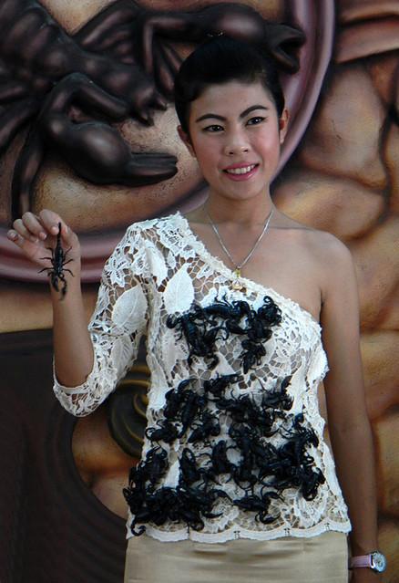 The Scorpion Lady in Pattaya