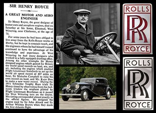 22nd April 1933 - Death of Sir Henry Royce | by Bradford Timeline