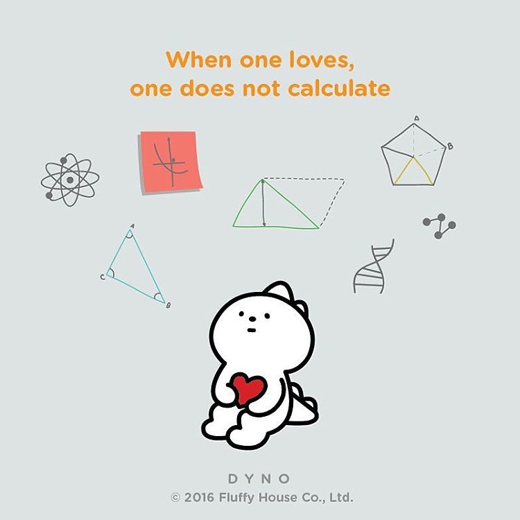 when one loves one does not calculate