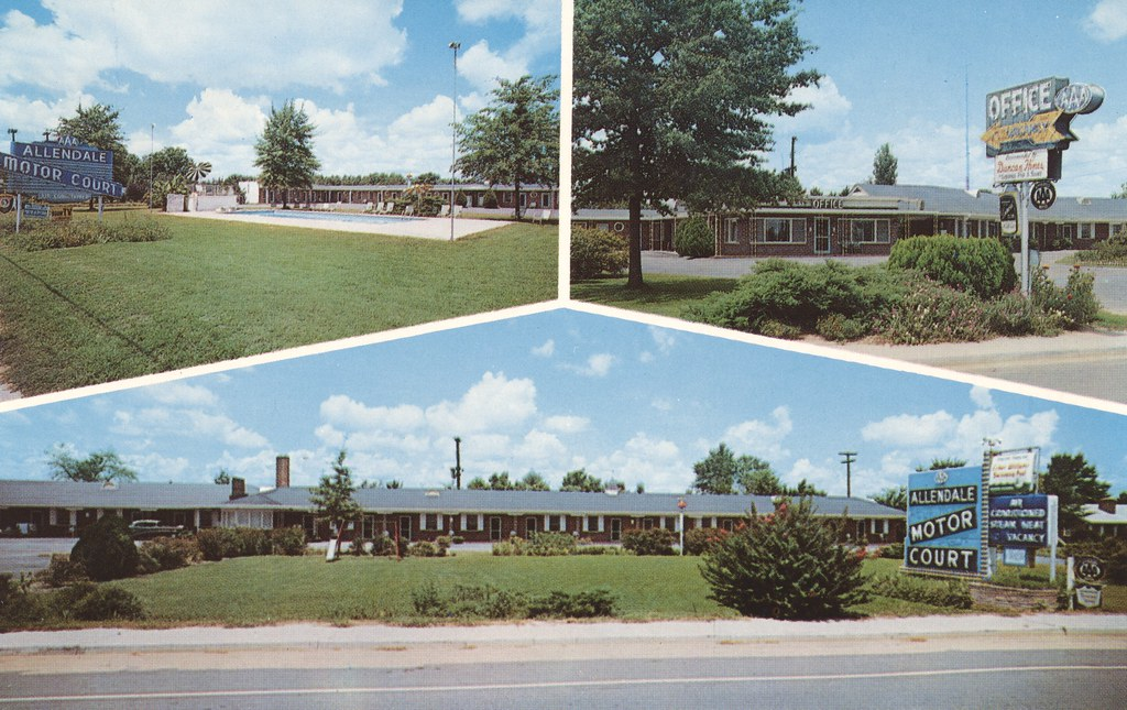 Allendale Motor Court - Allendale, South Carolina
