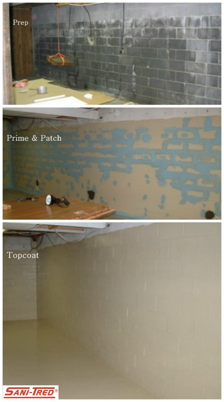 ... DIY Basement Waterproofing | by Decorative Concrete Kingdom & DIY Basement Waterproofing | sanitred.com | Decorative Concrete ...