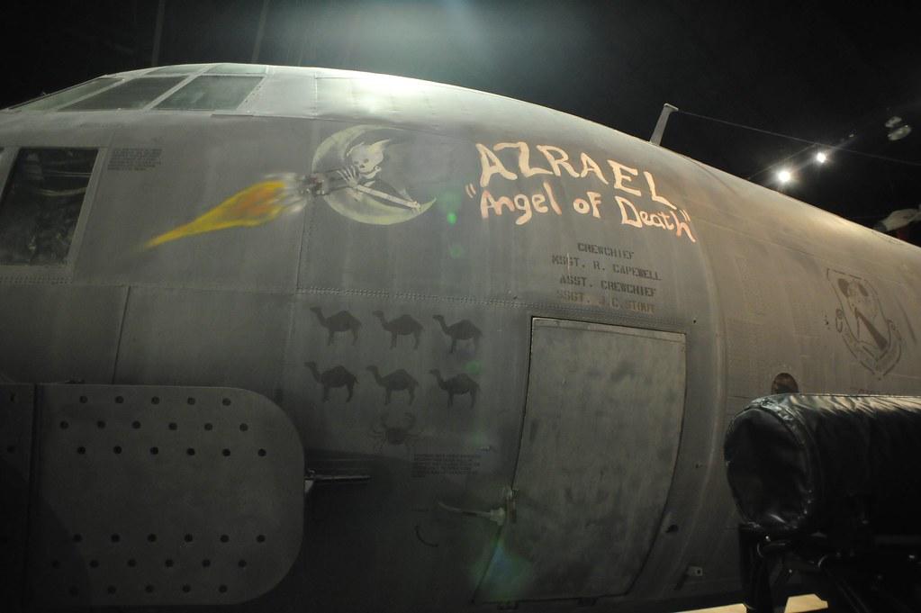 ac 130a azrael angel of death gunship ac 130 spectre at flickr