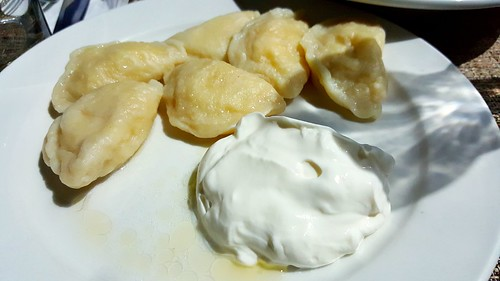 Pierogies: Cheese and Potatoes