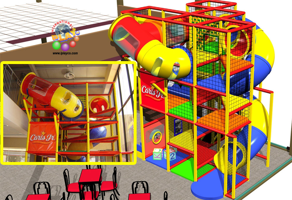 Restaurant commercial indoor playground structure design i… | Flickr