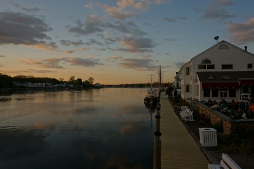 Mystic River at Sunset, Mystic, Connecticut | by RoadTripMemories