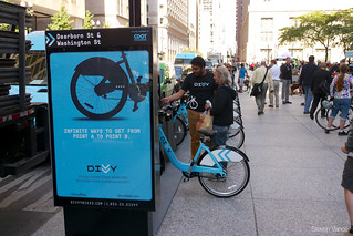 Divvy bike sharing at Bike to Work Day Rally | by Steven Vance