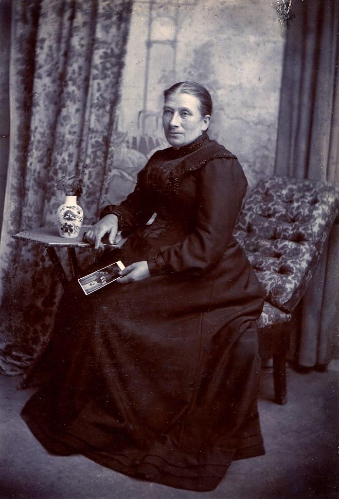 Albumen Carte De Visite Circa 1885
