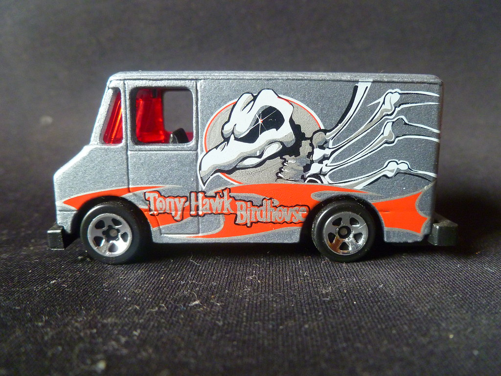 Ford Closed Van Most Probably Tony Hawk Birdhouse Series Flickr Pro Model By Hot Wheels