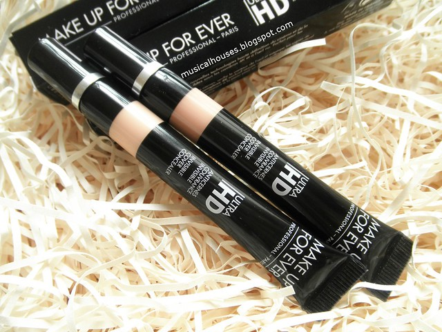 MUFE Ultra HD Concealer Review Invisible Cover