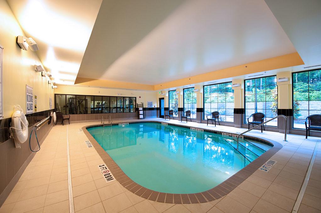 ... Heated Indoor Pool At Staybridge Suites Charleston SC | By Naman Hotels
