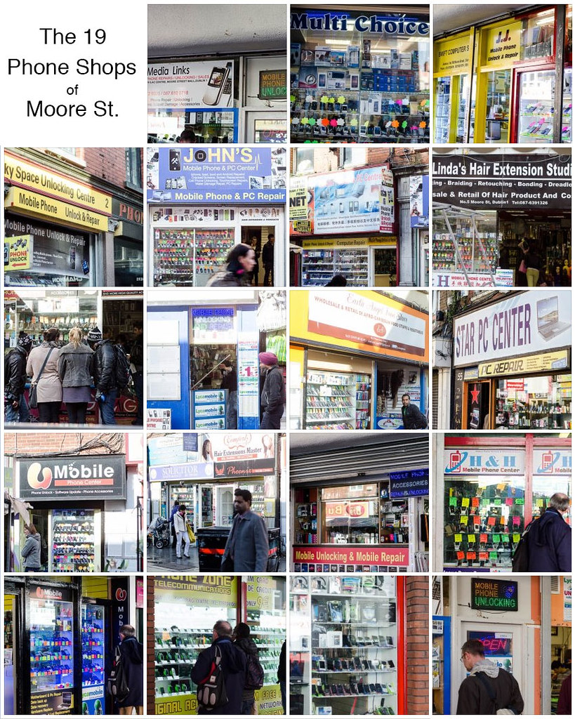 The 19 Phone Shops Of Moore St 94365 Ever Wonder How Flickr