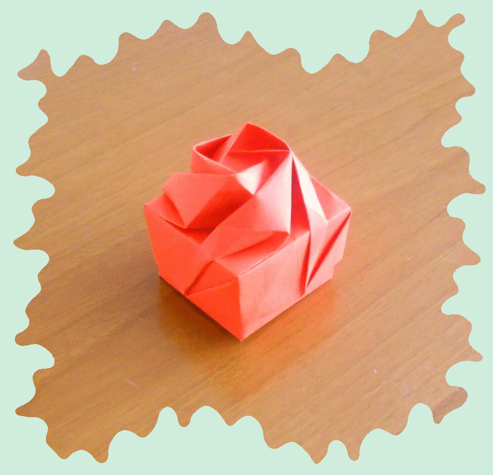 Origami Rose Box By Shin Han Gyo Katrins18 Flickr