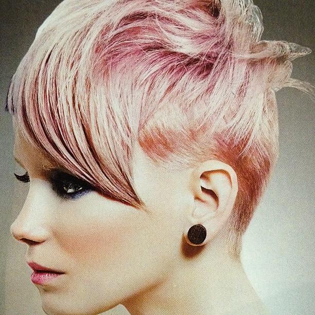Pink Highlights Eav Eavig Instagram Shorthair Short Flickr
