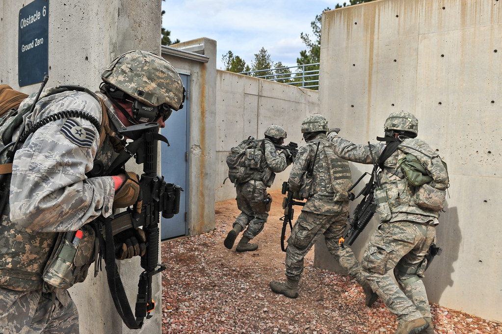 Combat leaders course | Air Force Reserve security forces me… | Flickr