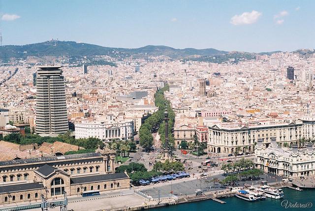 La Rambla. Barcelona. Spain