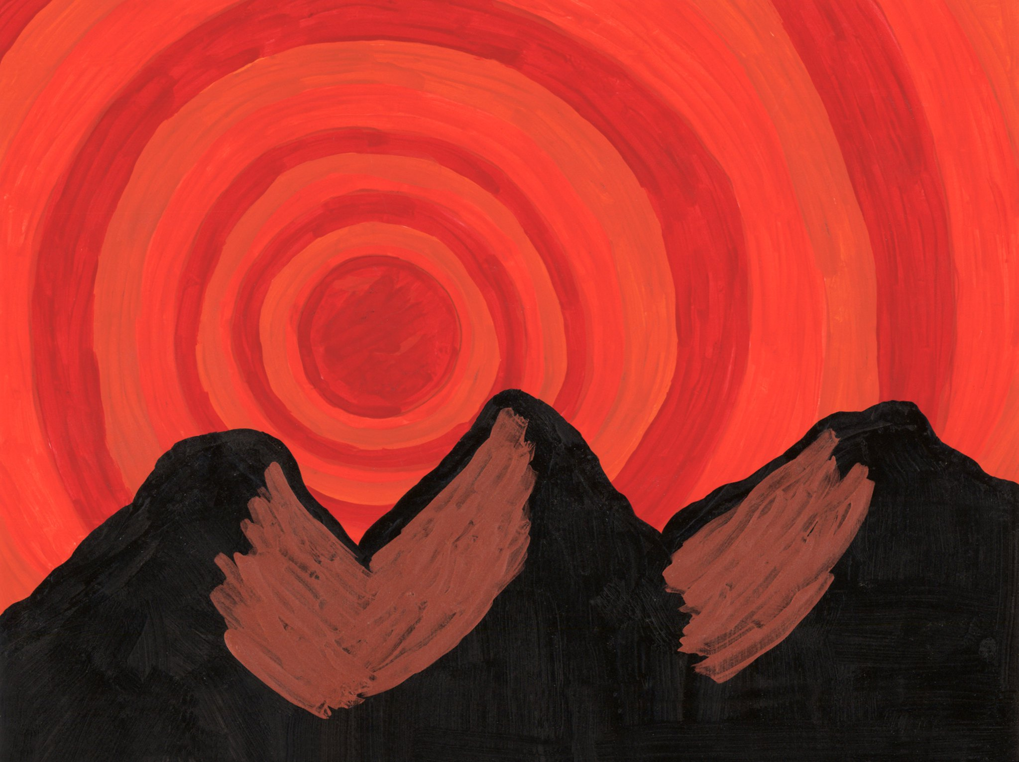 Mountain Vortex  By Sherrie D. Larch