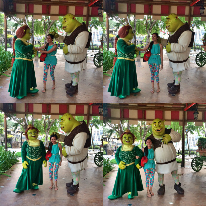 Fiona and Shrek - Copyright Travelosio