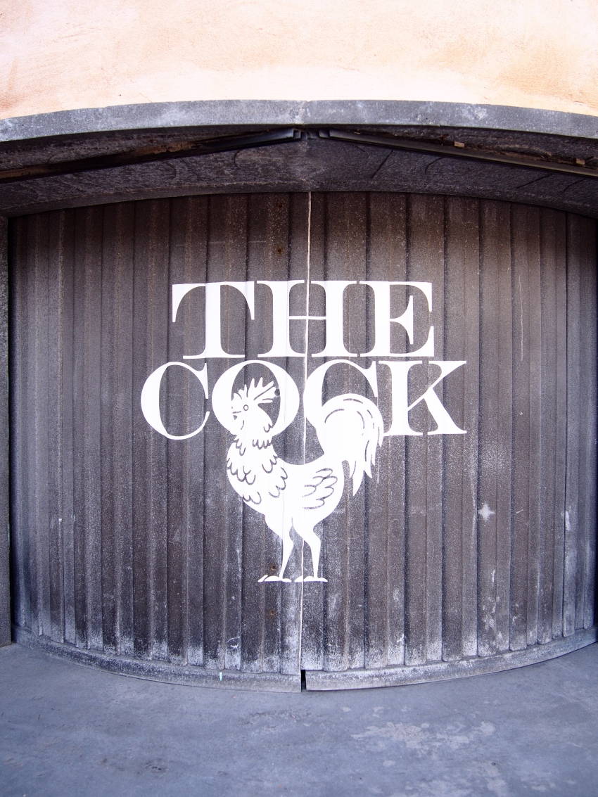 The Cock ravintola, restaurant The Cock