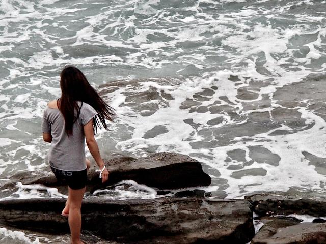 Walking Along The Waves
