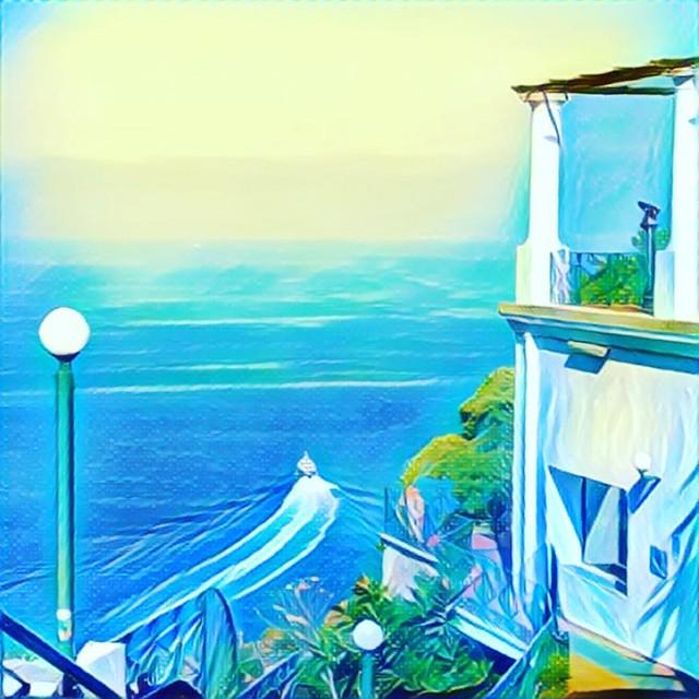 Капри #италия #italy #my_love_italy #capri #prisma #prismaart #prismainsta #prismaru